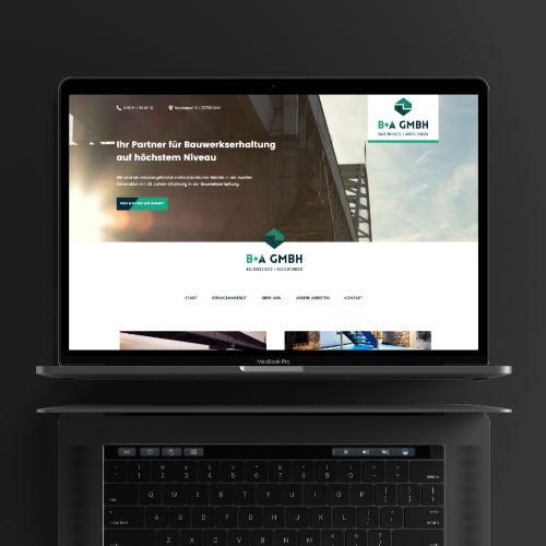 Uwe Horn – Erstellen von Webseiten und Onlineshops – B+A Bautenschutz