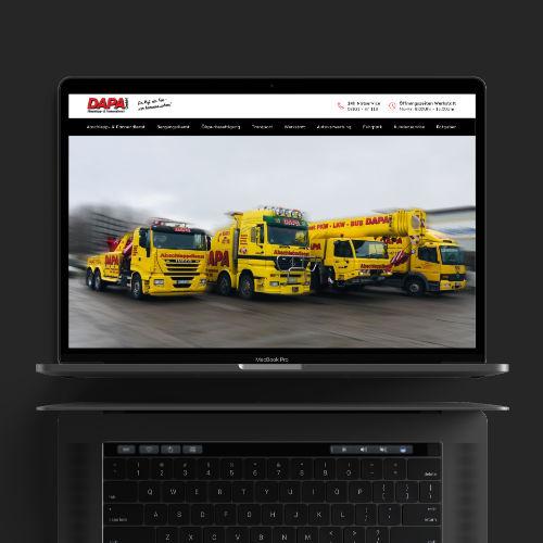 Uwe Horn – Erstellen von Webseiten und Onlineshops – DAPA GmbH