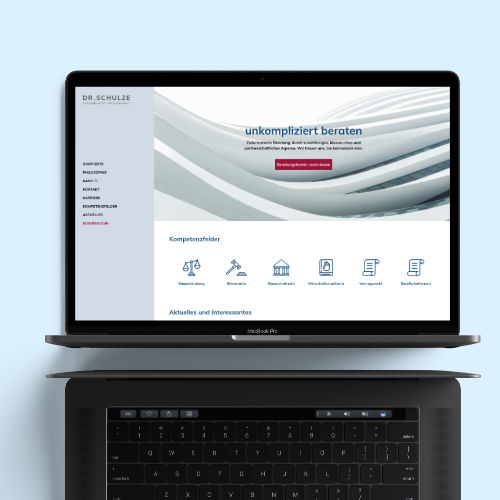 Uwe Horn – Erstellen von Webseiten und Onlineshops – Dr. Schulze Rechtsanwalt