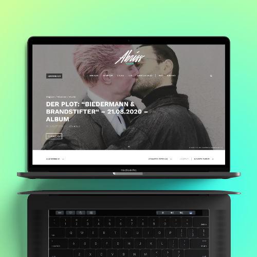 Uwe Horn – Erstellen von Webseiten und Onlineshops – Abriss Magazin